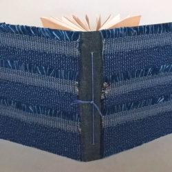 """Blue Book Value, 2016, 7.25 x 15.25 x 7.5"""",  mixed media/artists' book"""