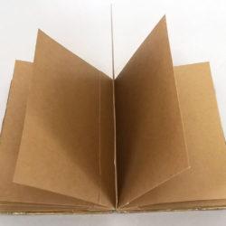 "Mariposa II, (inside) 2017, 6 x 9.75 x 4.75"", mixed media/artists' book"