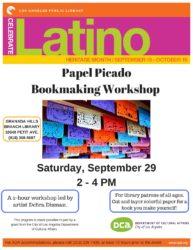 Papel Picado Bookmaking Workshop