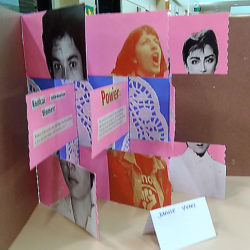 Bookmaking at Verdugo Hills High School with VAPA Students