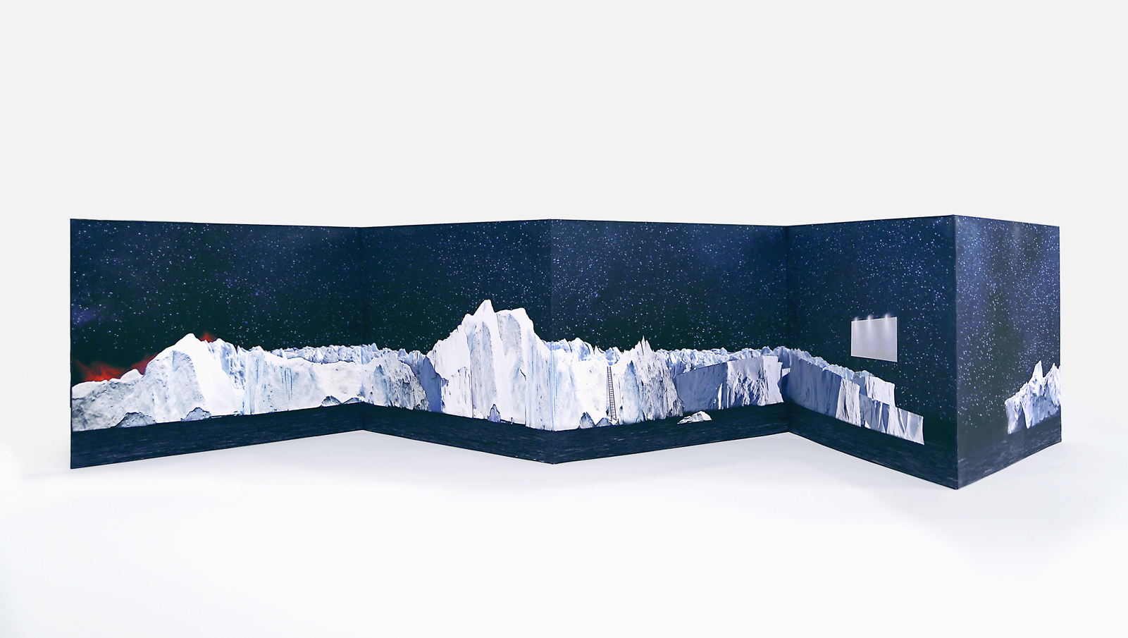 """""""drift"""": a collaborative Artists' Book by Luciana Abait and Debra Disman"""